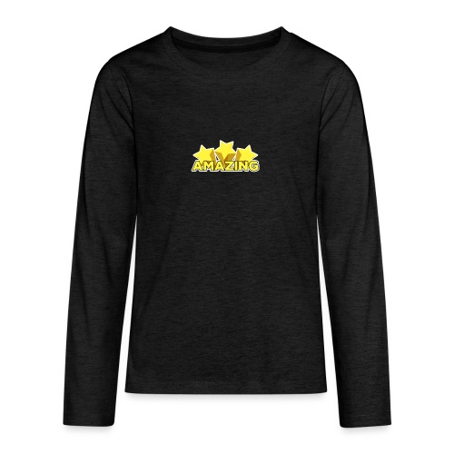 Amazing - Teenagers' Premium Longsleeve Shirt