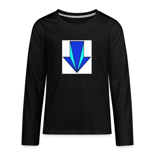 flecha - Camiseta de manga larga premium adolescente