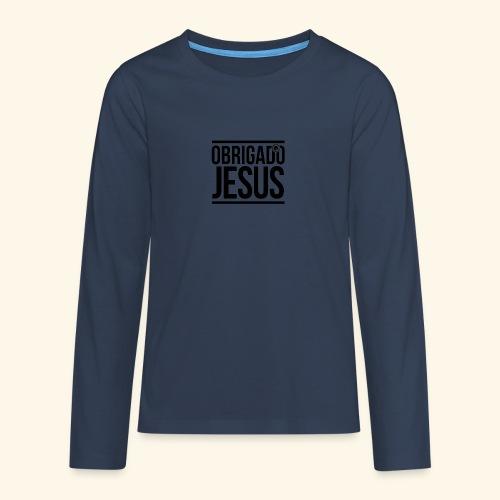 Multi-Lingual Christian Gifts - Teenagers' Premium Longsleeve Shirt