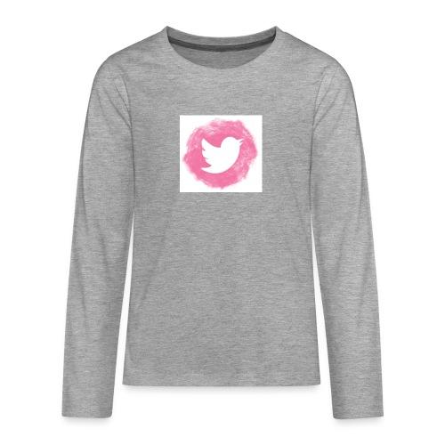 pink twitt - Teenagers' Premium Longsleeve Shirt