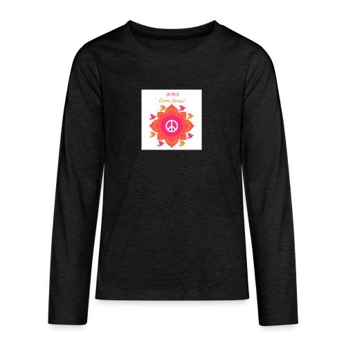 Ca paix comme jamais! - T-shirt manches longues Premium Ado