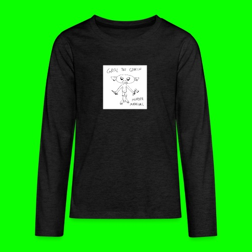 Murder Madrigals - Teenagers' Premium Longsleeve Shirt