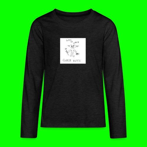Goblin Noise - Teenagers' Premium Longsleeve Shirt