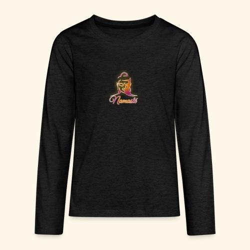 Buddha - Namasté - Teenager Premium Langarmshirt