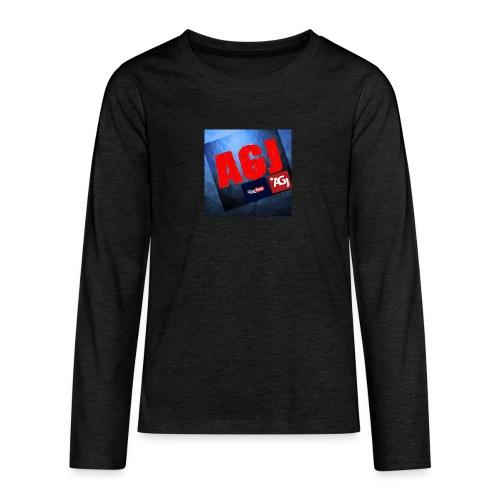 AGJ Nieuw logo design - Teenager Premium shirt met lange mouwen