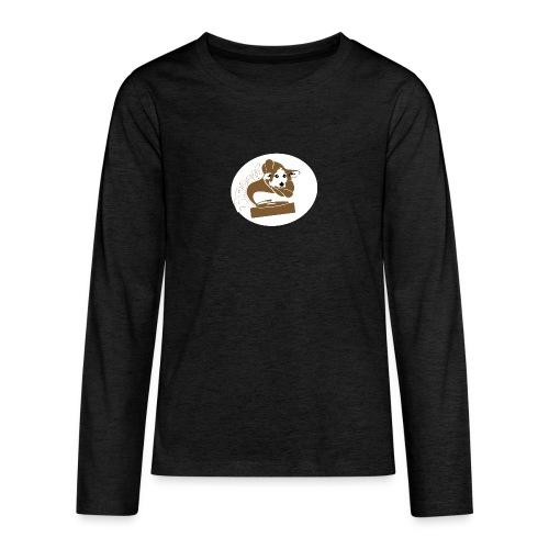 Droove logo - Teenager Premium shirt met lange mouwen