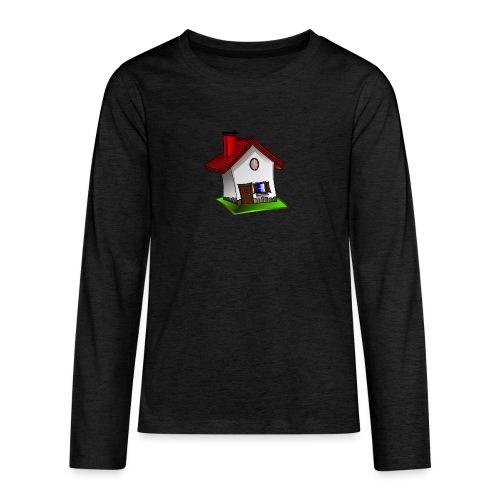 Haus - Teenager Premium Langarmshirt