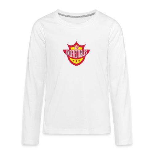 Undetectables voorkant - Teenager Premium shirt met lange mouwen
