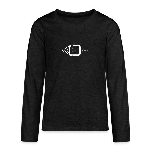 Logo Associazione Oltre - Maglietta Premium a manica lunga per teenager