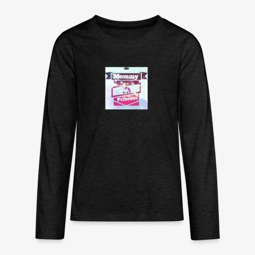 Mommy & Princess - Teenager Premium Langarmshirt