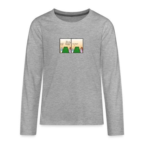 billard - T-shirt manches longues Premium Ado