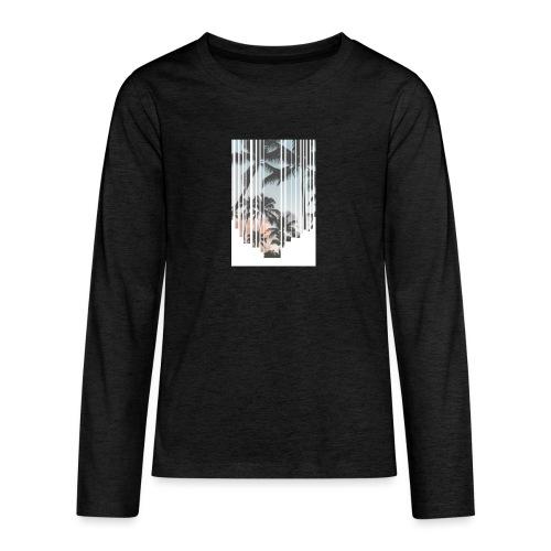 Tropic - Koszulka Premium z długim rękawem dla nastolatków