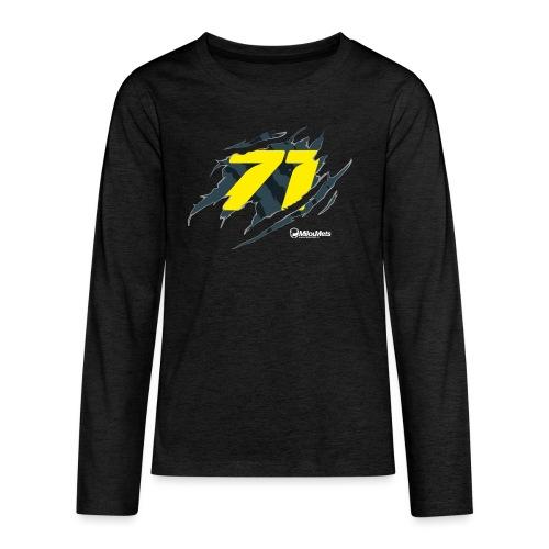 Milou Mets 71 - Teenager Premium shirt met lange mouwen