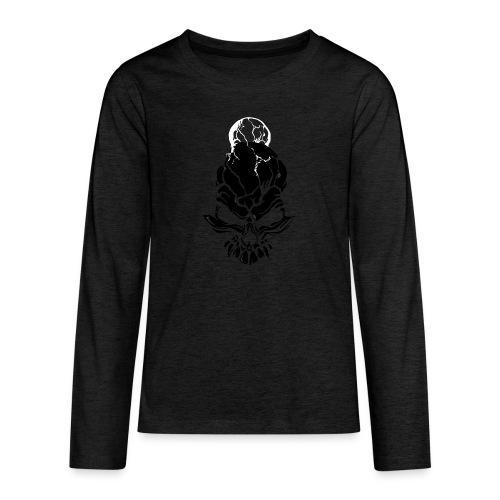 F noize fronte png - Teenagers' Premium Longsleeve Shirt