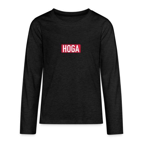 HOGAREDBOX - Premium langermet T-skjorte for tenåringer