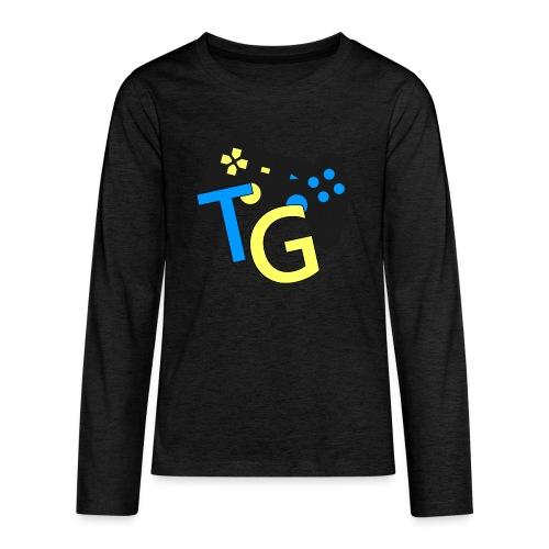 logoTG - Koszulka Premium z długim rękawem dla nastolatków