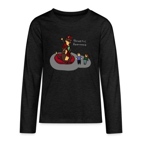 Cesarz Fretka Wspaniały - Koszulka Premium z długim rękawem dla nastolatków