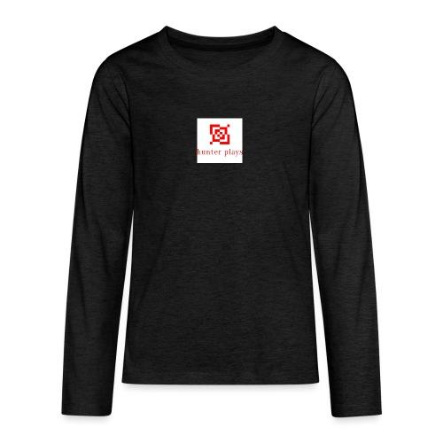 hunter plays - Teenagers' Premium Longsleeve Shirt