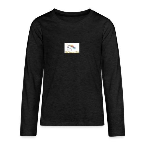 unicorn - Teenagers' Premium Longsleeve Shirt