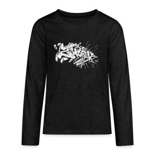 graffiti 2Wear dae120 2tone - Teenager premium T-shirt med lange ærmer