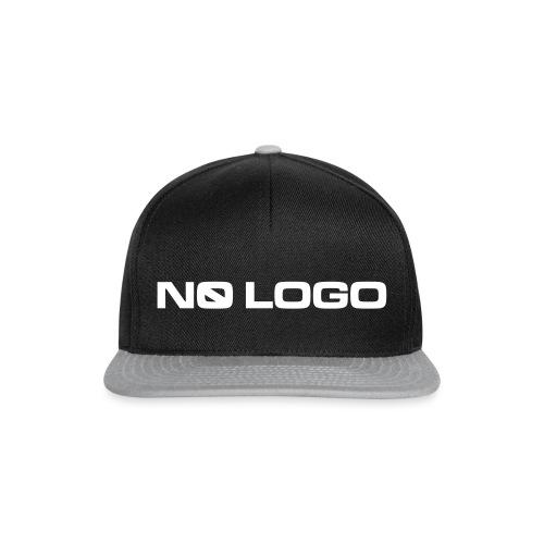 No Logo mark - Snapback Cap
