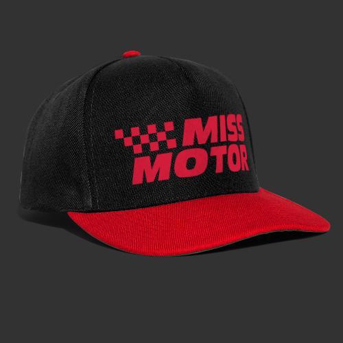 Miss Motor - Snapbackkeps
