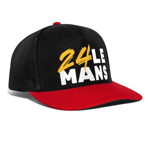 24h Le Mans Lounge (jaune) - Snapback Cap