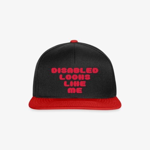 > Een gehandicapte ziet eruit zoals ik - Snapback cap