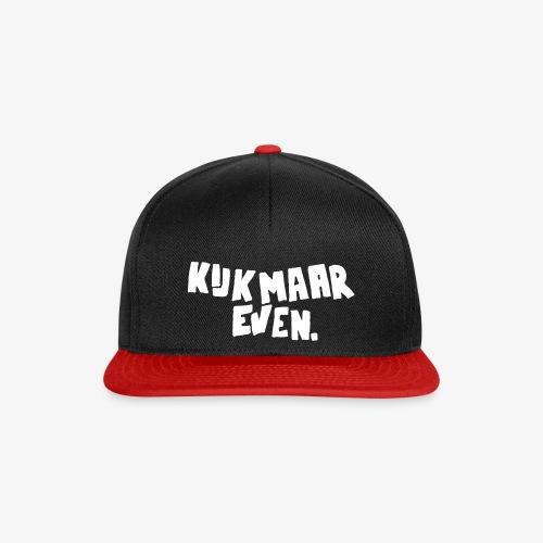 Kijk maar even. - Snapback cap