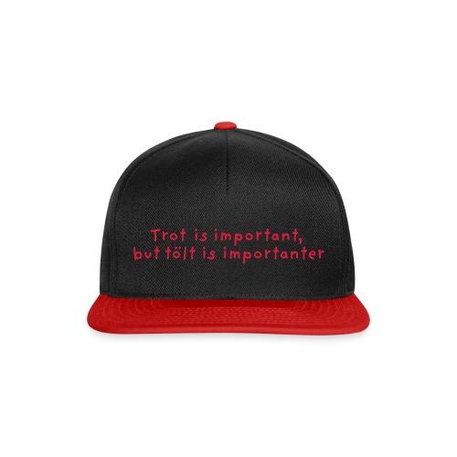 Tölt is importanter - Snapback-caps