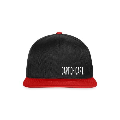 schriftzugweiss3 - Snapback Cap