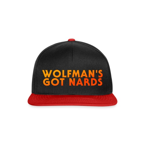 Wolfman's Got Nards 2018 Logo - Snapback Cap