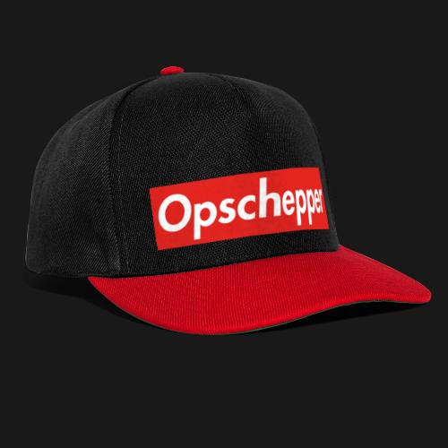 Opschepper Classic (Rood) - Snapback cap