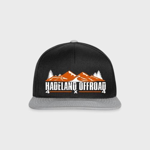 Hadeland Offroad Stor Logo Hvit - Snapback-caps