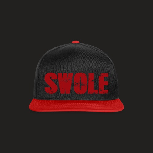 SWOLE RED - Snapback Cap