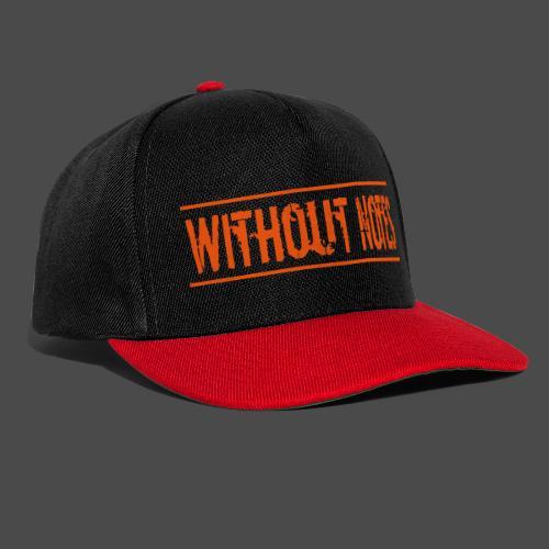 Without Notes Schriftzug Nummer 1 - Snapback Cap