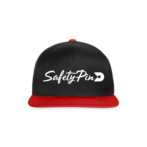 Horizontal SafetyPin - Snapback Cap