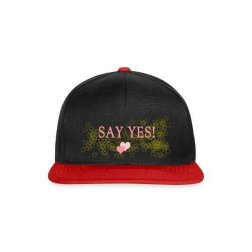 Say yes - Snapback Cap