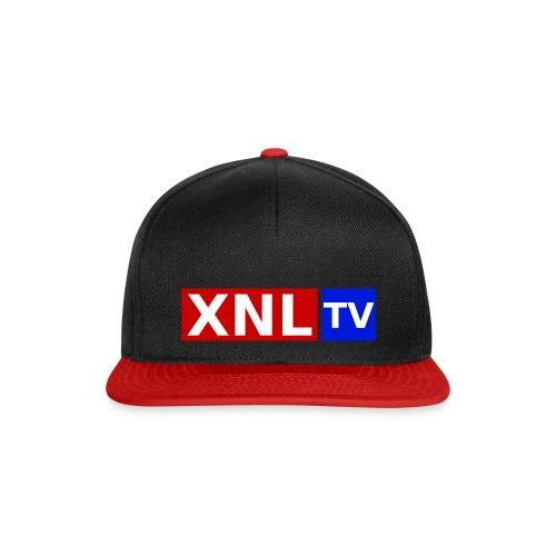XNL TV Large 3 Color CO png - Snapback Cap