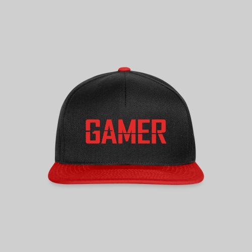 2000px Gamer svg - Snapback Cap