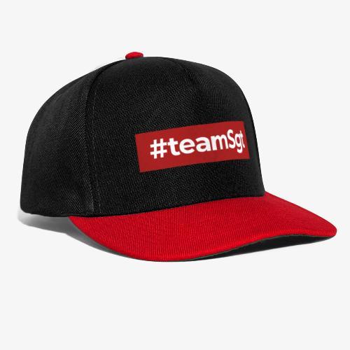 #teamSgt - Snapback cap