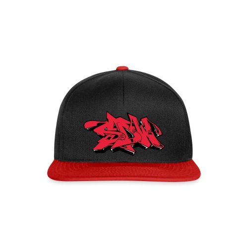 SDW-LogoRedBlackPNG - Snapback Cap