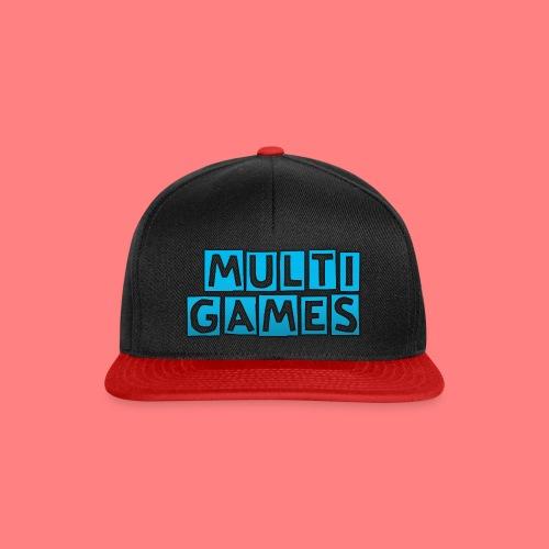 Multi Games blauw - Snapback cap