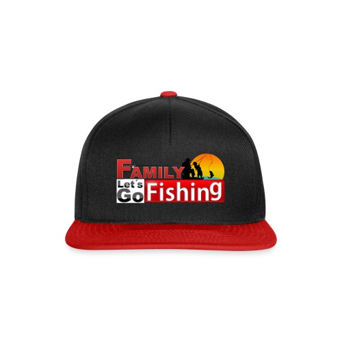 FAMILY LET'S GO FISHING FUND - Snapback Cap