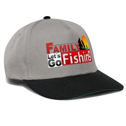 FAMILY LET´S GO FISHING FONDO - Gorra Snapback