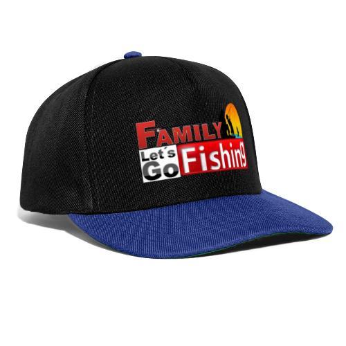 FAMILY LET´S GO FISHING FONDO - Gorra Snapback