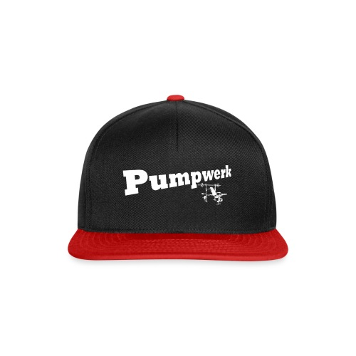 Pumpwerk bench white - Snapback Cap