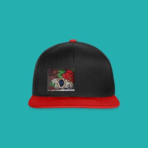 flower-skull - Snapback Cap