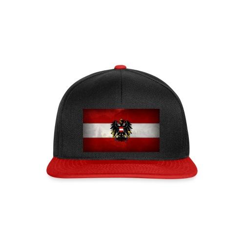 rot weiß rot bis in den tot - Snapback Cap