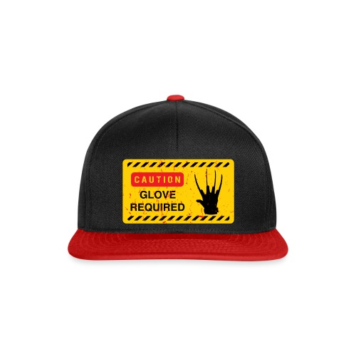 Oldtee Glove Required - Casquette snapback